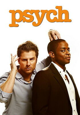 "535 Hot Movie TV Shows - Psych 14 14""x20"" Poster"