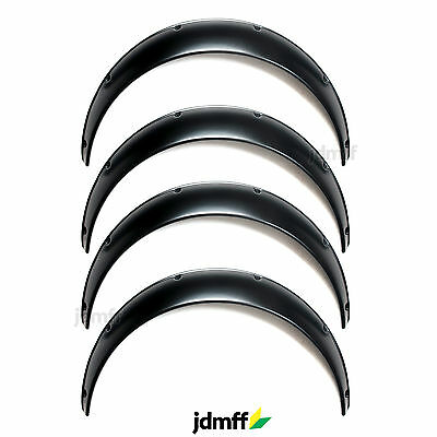 Universal JDM Fender Flares over wide body wheel arches ABS 90mm 4pcs