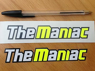 "Andrea Iannone ""The Maniac"" Screen Decals (Large)"