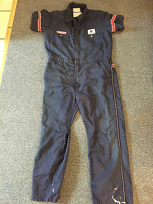 Vintage United Airlies Mechanic Jumpsuit Overalls Free Shipping!!!