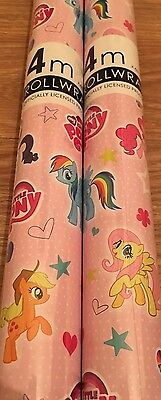 my little pony gift wrapping paper 4 Meter Roll Giftwrap