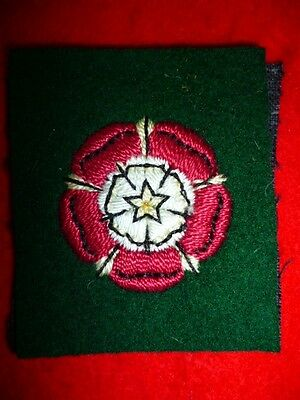 Catterick Garrison Embroidered Formation Patch / Cloth Badge