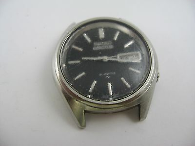 Vintage Seiko 5 Actus 21 Jewel Watch for Parts or Repair