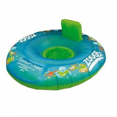 Zoggs 304213 Zoggy Trainer Seat Blue Learn to Swim SPECIAL NEEDS 12-18 months