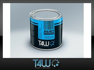T4W PAINT REMOVER varnish stripper for metal surfaces / 0.5 L