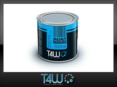 T4W PAINT REMOVER varnish stripper for wooden surfaces / 0.5 L