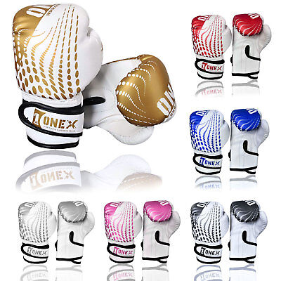 New Boxing Gloves Kids Junior Youth Sparring Training Mitts MMA 4oz Muay Thai