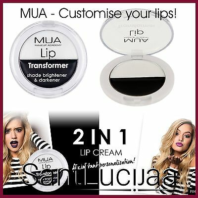 Mua Lip Transformer - Lip Primer Balm White Black Customise Lipstick Lipgloss