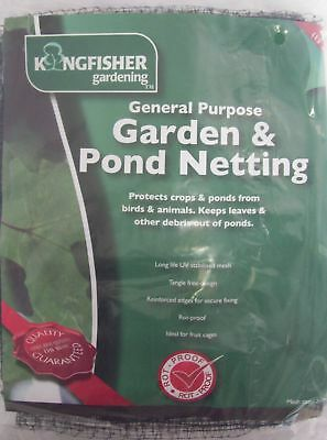 Kingfisher Garden & Pond Netting 4 x 2m - Pond protection
