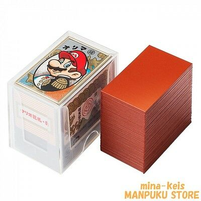Nintendo Super Mario Version playing cards Red Hanafuda Japan F/S with tracking