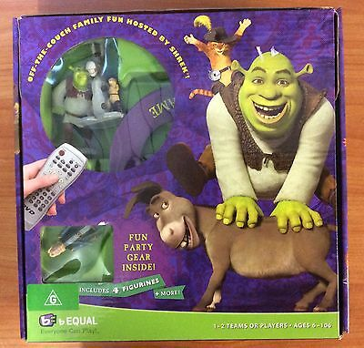 2007 DreamWorks Shrek Swamp Party DVD Game - 100% Complete