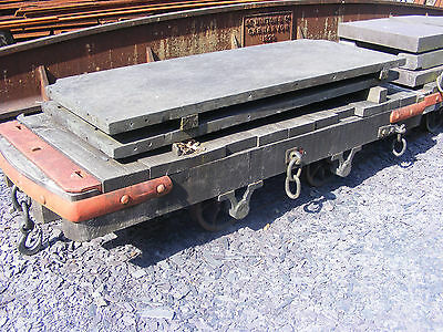 Festiniog flat wagon Binnie engineering 32mm gauge SM32 garden railway 16mm LGB