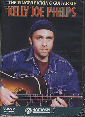 The Fingerpicking Guitar of Kelly Joe Phelps Tuition DVD Learn How To Play