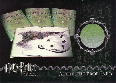 Harry Potter Prisoner of Azkaban Update Unfogging the Future Prop Card b