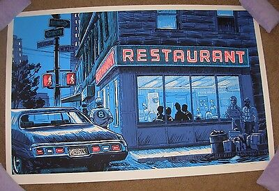 SEINFELD poster print THE BIG SALAD Tim Doyle Unreal Estate