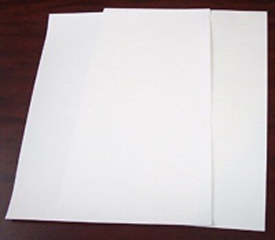 100p 8.5x11 Parchment Paper silicone coated for Heat Press Opaque Transfer,reuse