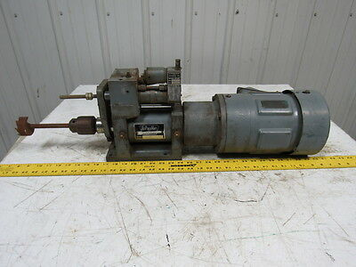 HyPneuMat M350EHB-3 1-18-3 Drill Unit W/Reliance P14G1339M-KQ 3PH 1735 RPM Motor