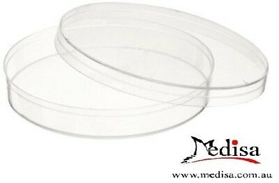 10pcs/pk Plastic Petri dishes with lid 100mm, Pre-sterile, Polystyrene