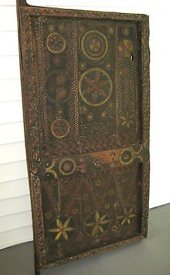 Antique Authentic Timbuktu/ North African Door Panel Architectural Wall Hanging