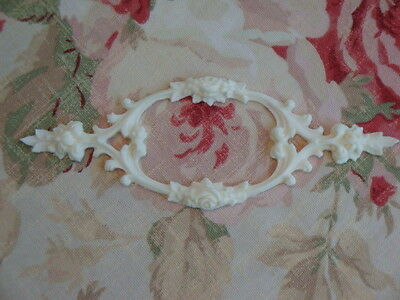 New! FLEXIBLE Rose Scroll Center Furniture Applique Architectural Trim