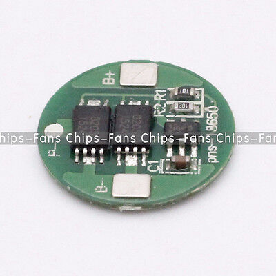 10PCS Dual MOS Battery Protection Board for 18650 Lithium Battery UK