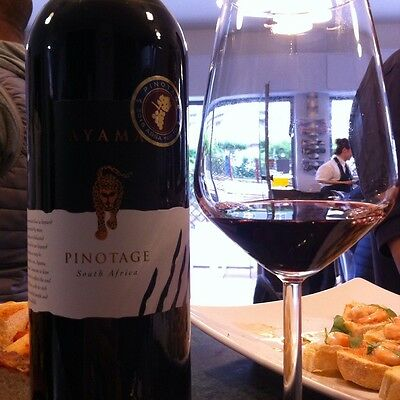 "VINO ROSSO, ""PINOTAGE"", Sud-Africa anno 2013"