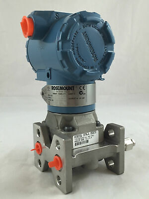 Rosemount 3051 Differential Pressure Transmitter CD2A03A1BE7H3L4P104 0-62KPA