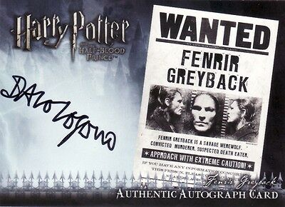 Harry Potter Half Blood Prince Update Dave Legeno as Fenrir Greyback Auto Card