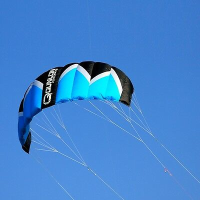 Flame2 Quad Line Traction Kite Dyneema Sleeve Sport Kite Wind Game Entry to Pro