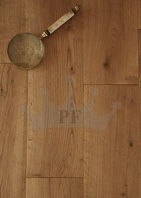 Solid Oak Flooring Brushed and Oiled 150mm x 18mm Wood Floor Hardwood