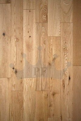 Solid Oak Flooring Brushed and Oiled 90mm x 18mm Wood Floor Hardwood