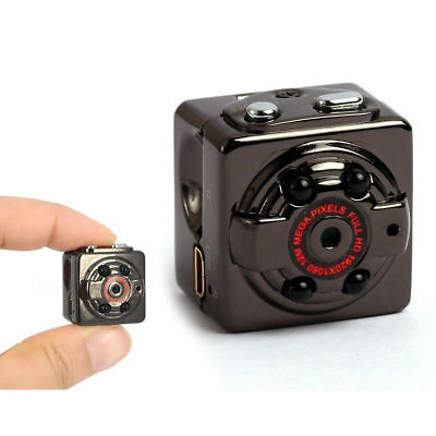 Mini telecamera spia infrarossi micro camera nascosta Full HD Auto Car SQ8 spy