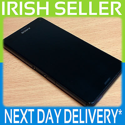 Sony Z3 Compact D5803 Genuine Black Lcd Screen Digitizer Touch Frame