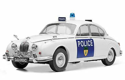 MODEL-ICONS Jaguar MK 2 Police Car - LEICESTERSHIRE & RUTLAND 1:18 Scale