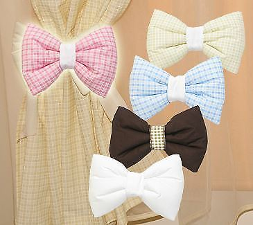Baby Nursery Room Decorative Bow for Curtains / Canopy / Wall Decoration