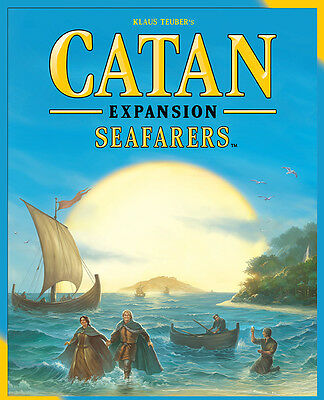 Catan - Seafarers Board Game Expansion 5th Edition (AU Stock)
