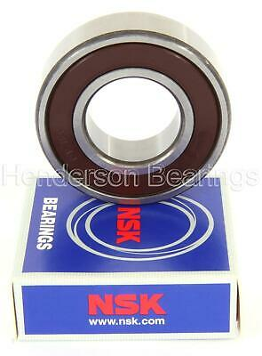6000-6307 2RS, DDU Series Rubber Sealed Ball Bearings- Genuine NSK - Choose Size