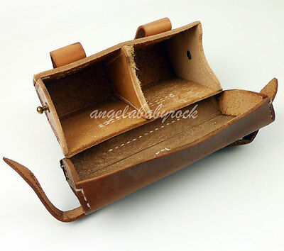 Wwii Japanese Army Ammo Pouch Case Holder Leather Belt Pouch Pack-0260