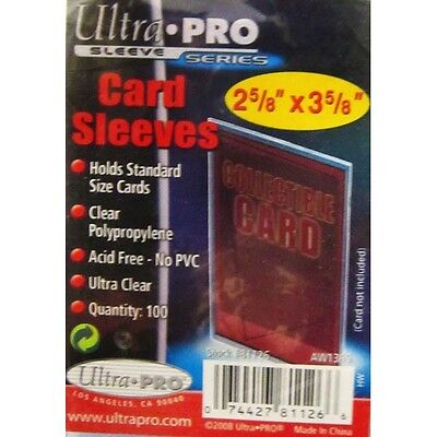 Ultra Pro - Stor Safe Card Sleeves (100)