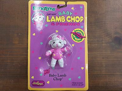Bend-ems Shari Lewis' Baby Lamb Chop & Friends Figure NEW in Package