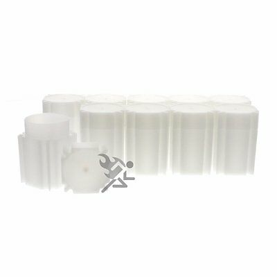 CoinSafe Silver Dollar Square Coin Storage Tube Holders for Peace Morgan Qty: 5