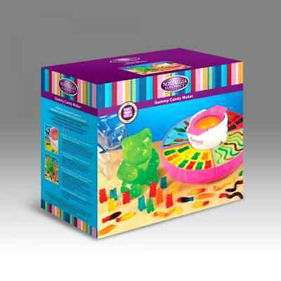 Gummy Bear Candy Giant Nostalgia Maker Party Family Electric Silicone Mold Kit