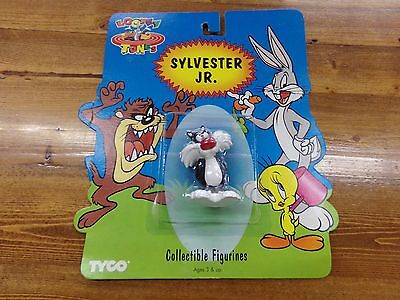 1994 Looney Tunes Sylvester Jr. Collectible Figure ~ NEW on Card by Tyco