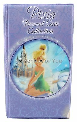 NEW Disney World Tinker Bell Pressed Penny Coin Collectors Book Holds 57 Coins