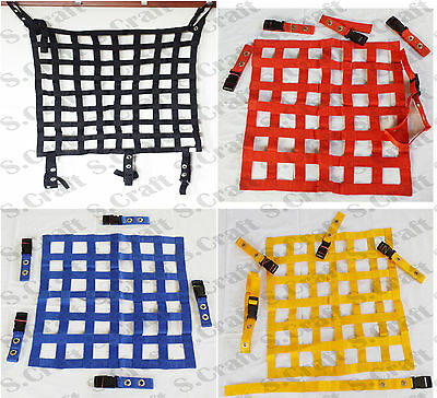 46x66 cms Race Safety Accessories Car Rally Racing Motorsport Window Net