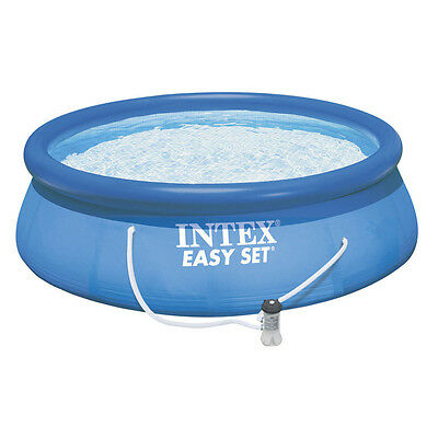 "Intex Inflatable 13' x 33"" Easy Set Pool with 530 GPH Cartridge Filter Pump"