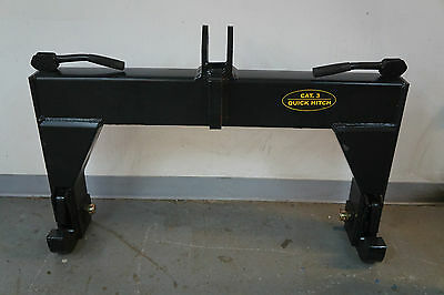 3-Point Quick Hitch Category 3 Farm Tractor Implement SHIP TO COMMERCIAL ADDRESS