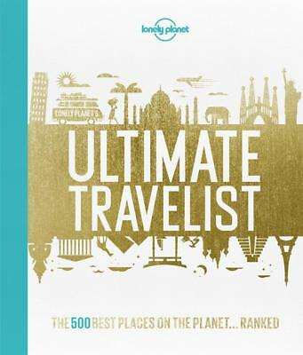 NEW Lonely Planet's Ultimate Travelist By Lonely Planet Hardcover Free Shipping