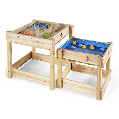 NEW Plum Wooden Sand and Water Tables Sustainable Timber Outdoor Play Kids Toys