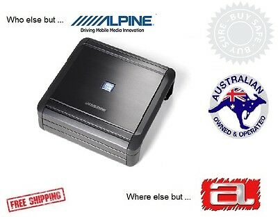 Alpine MRV-M500 Mono subwoofer amplifier — 500 watts RMS x 1 at 2 ohms